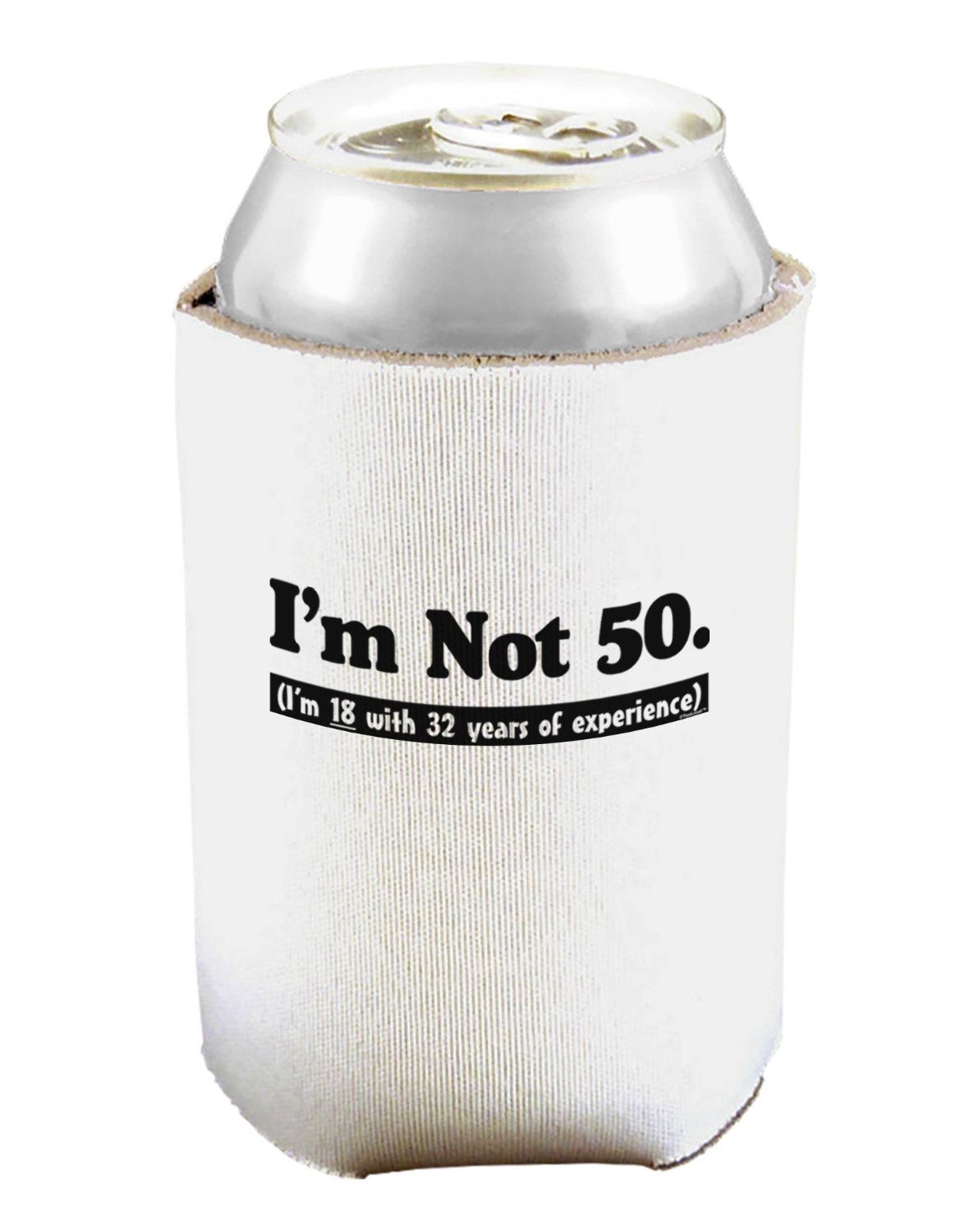 50th Birthday Gag Gifts Koozie