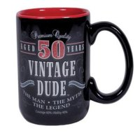 50th Birthday Gag Gifts Coffee Mug