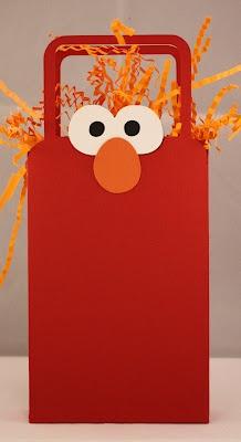 Elmo Birthday Party Favor Bags