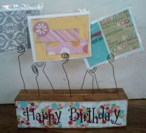 80th Birthday Card Holder
