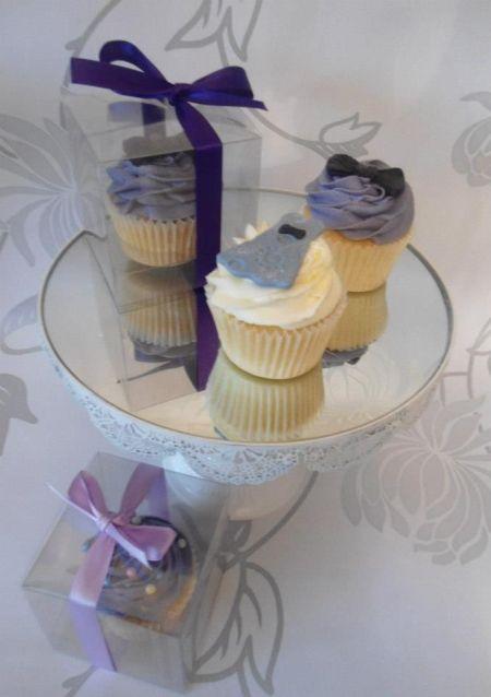 Idea for 80th Birthday Cupcakes