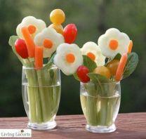 Vegetable Appetizer Display