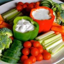 Bell Pepper Vegetable Appetizers