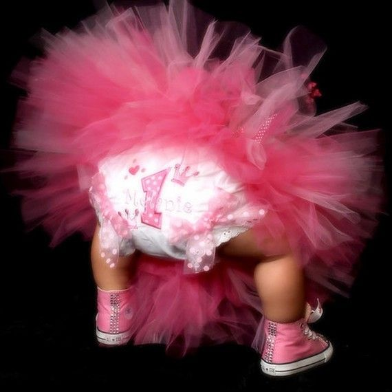 First Girl Birthday Bloomers