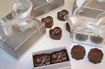 Handmade Chocolate Wedding Favor Gifts
