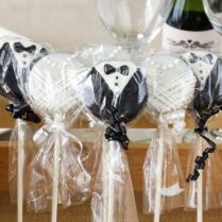 Bride & Groom Oreo Cookie Favors