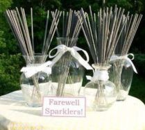 Sparklers For Wedding Farewell
