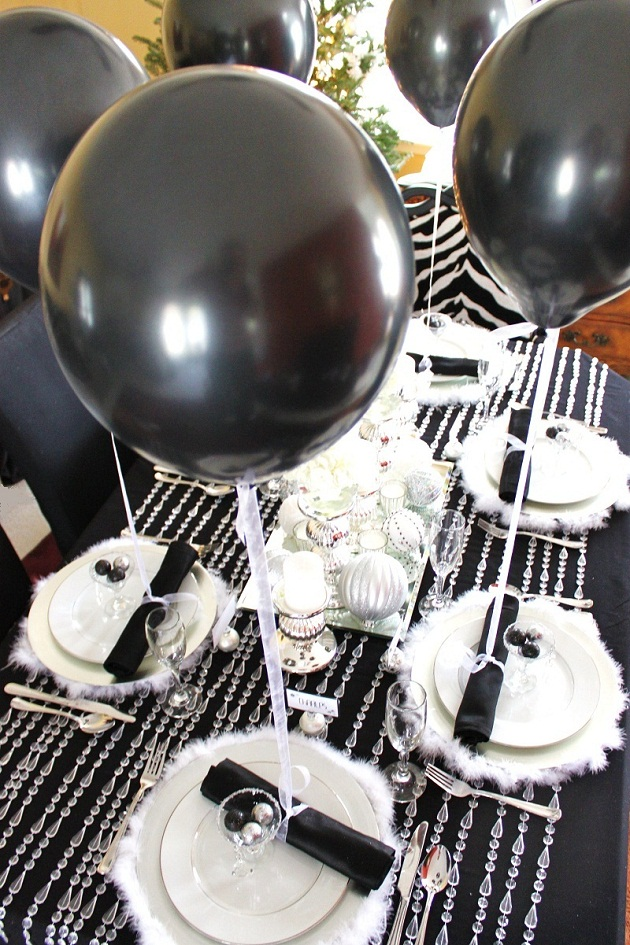 Wintry Themed 50th Birthday Party Themes