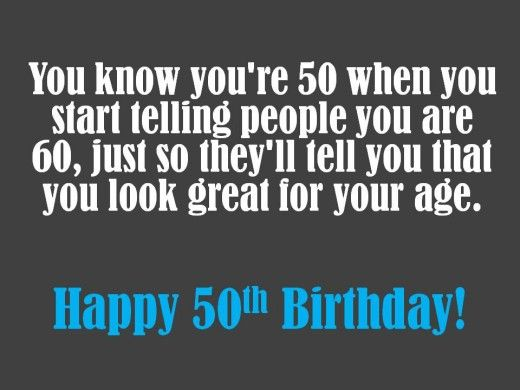 50th Birthday Gag Gifts Joke