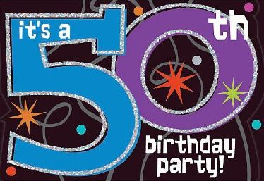 Planning 50th Birthday Party Invitations