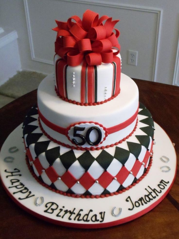 50th Birthday Cake Ideas