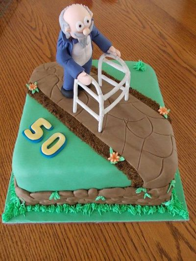 50th Birthday Cake Idea With Grandpa