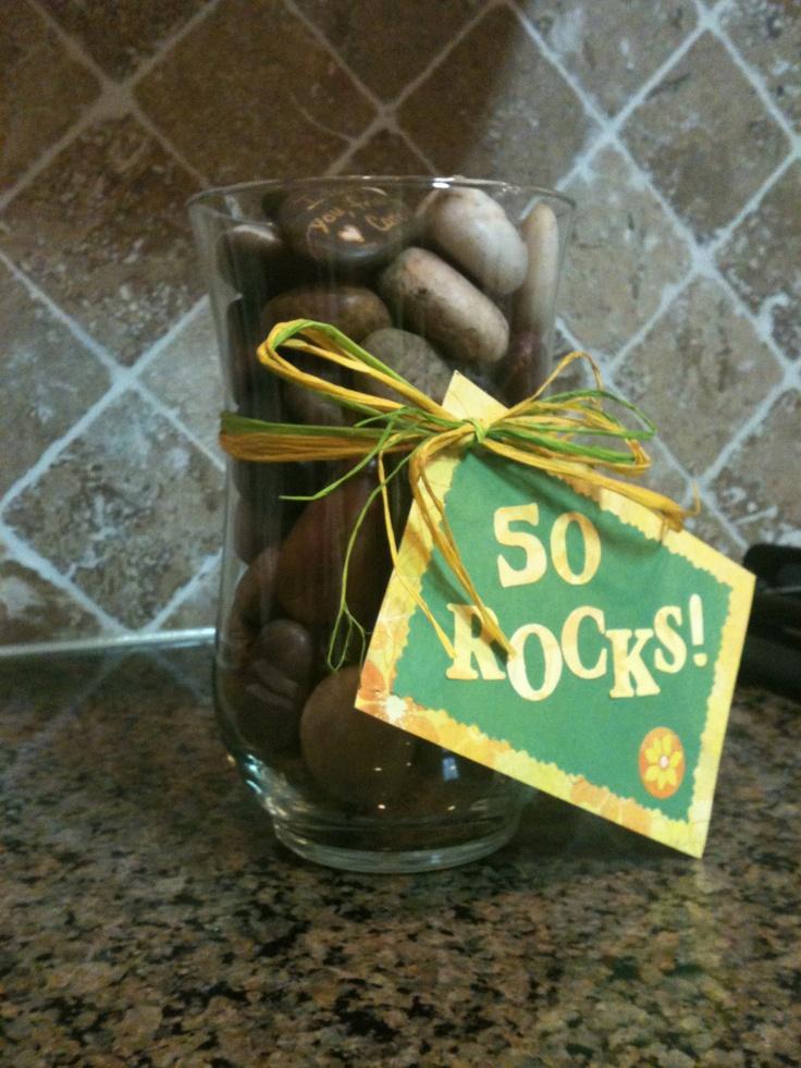 50 Rocks Gag Gift