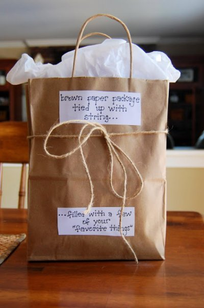 50th Birthday Gift Bag Idea