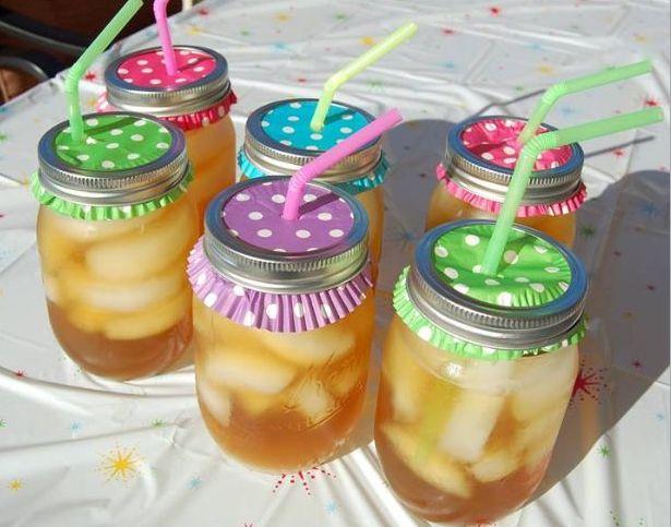 Iced Tea Mason Jars