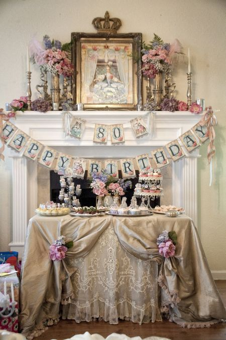 Regal 80th Birthday Decorations