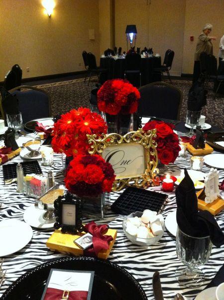 80th Birthday Decorations Table
