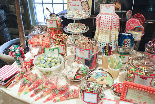 Candy Shop 80th Birthday Party Favors