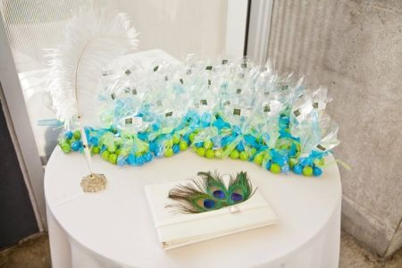 Bubblegum Wedding Favor Table