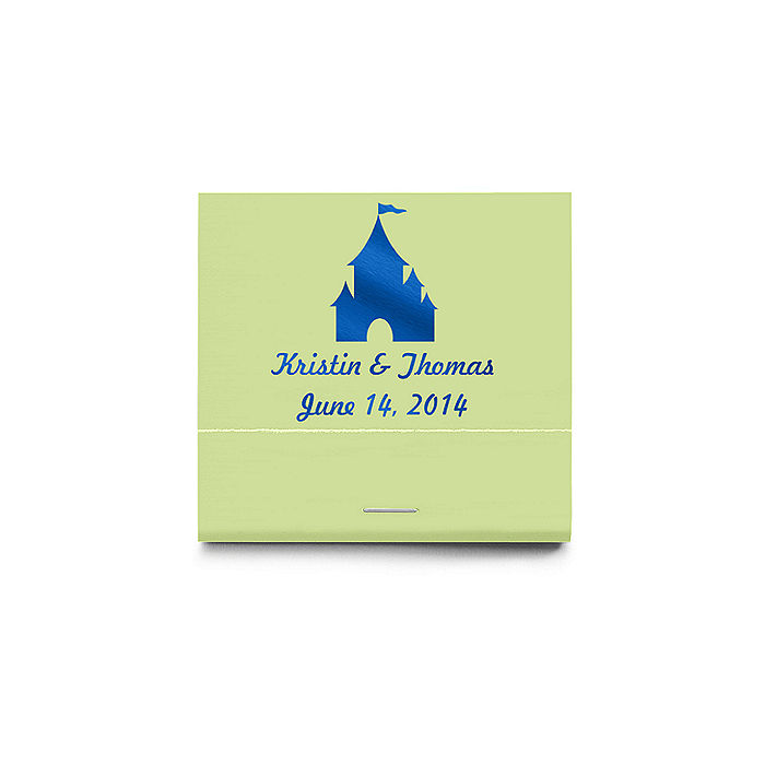 Castle Themed Personalized Matchbooks