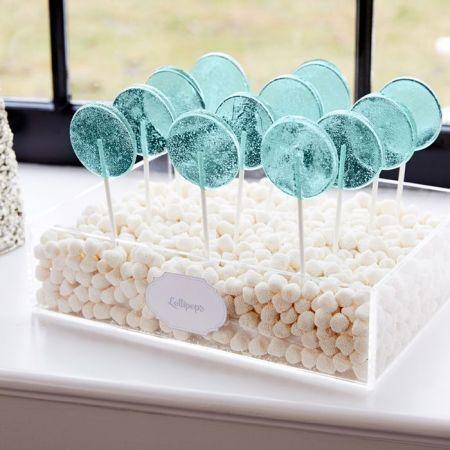 Champagne Bubble Candy & Lollipop Idea