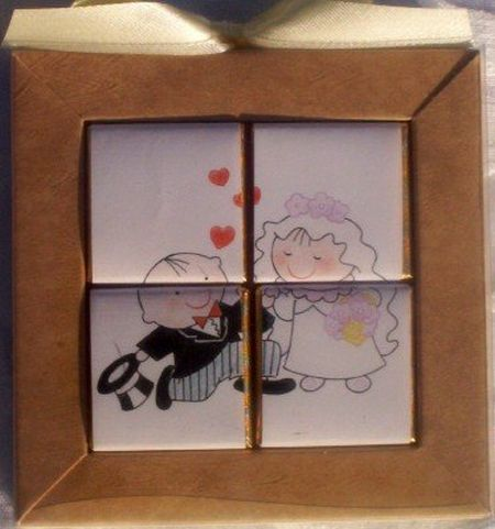 The Proposal Chocolate Puzzle Wedding Favor