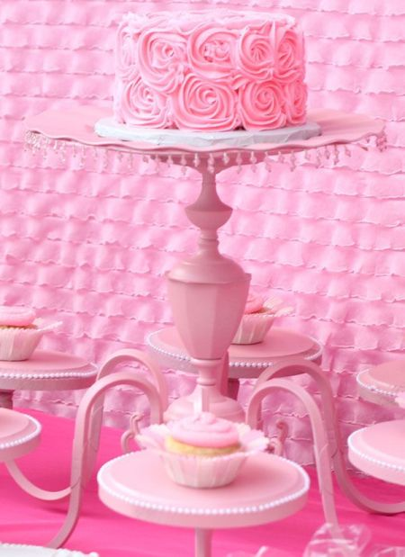 Vintage First Girl Birthday Display