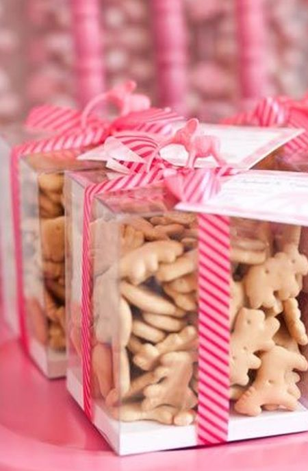 First Girl Birthday Cookie Favors