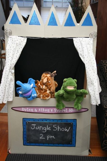 First Girl Birthday Puppet Show