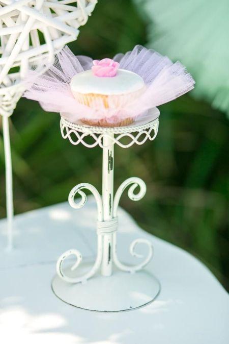 First Girl Birthday Cupcake Idea