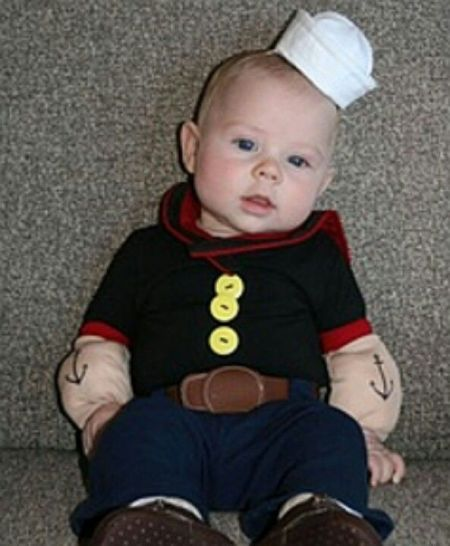 Popeye The Sailor Man Halloween Costume