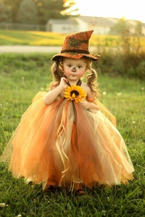 Adorable Scarecrow Halloween Costume