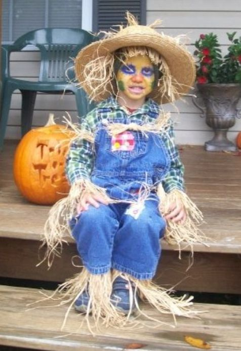 Scarecrow Kid Halloween Costumes