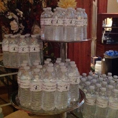 Water Bottle Golf Themed Wedding Favors