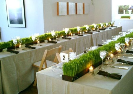 Golf Themed Tablescape