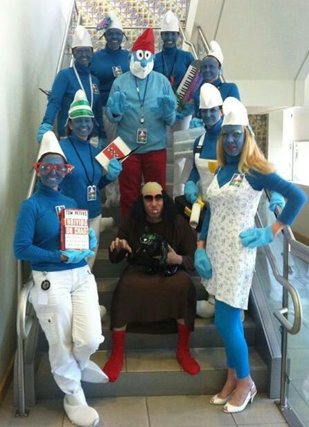 Village of Smurf Costumes