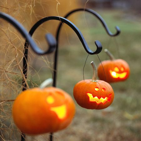 Little Jack-O-Lantern Halloween Yard Decorations