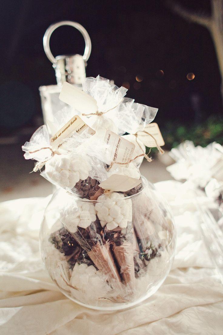 DIY Handmade Chocolate Wedding Favors