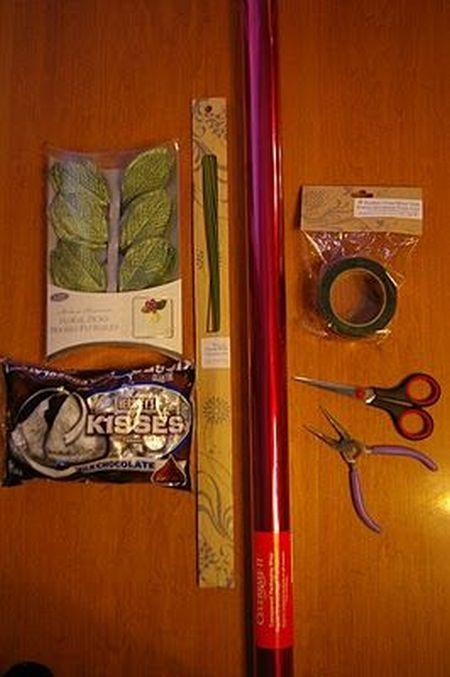 Hershey Kiss Rose Favor Supplies