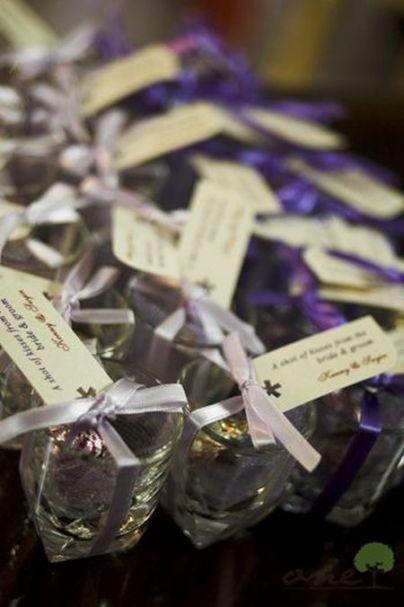 Personalized Hershey Kiss Wedding Favors