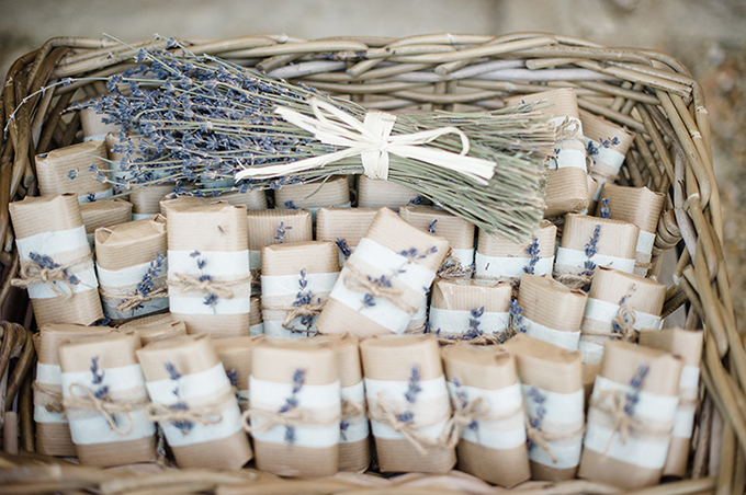 Handmade Soap Wedding Favor Idea