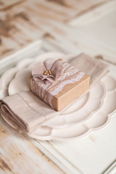 Elegant Homemade Wedding Favor Soaps