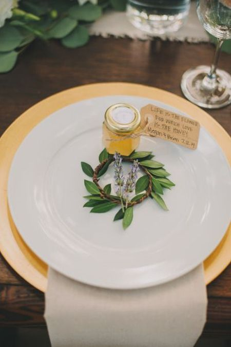 Ideas For Homemade Wedding Favors With Honey
