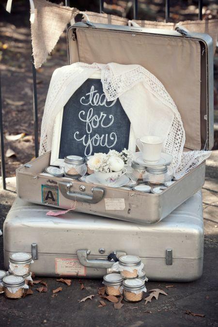 Tea Idea For Homemade Wedding Favors