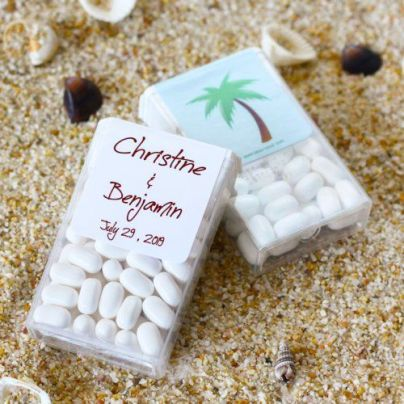 Tic Tac Wedding Favor Mints