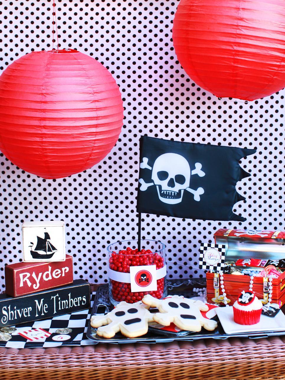 Детский пиратский праздник своими руками