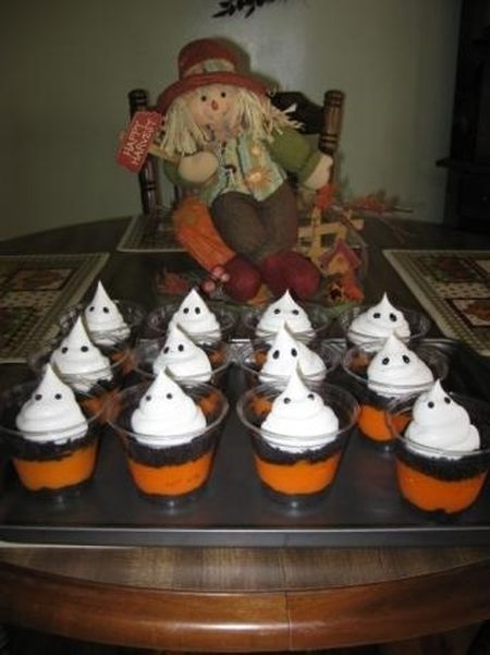 Ghostly Halloween Treats For Kids