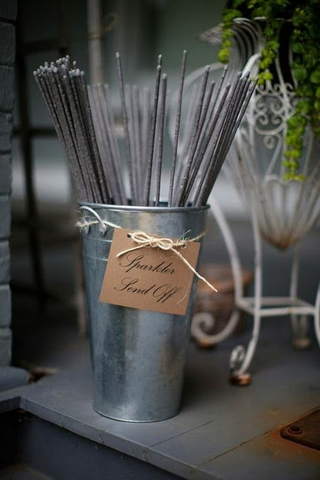 Sparklers For Weddings Display