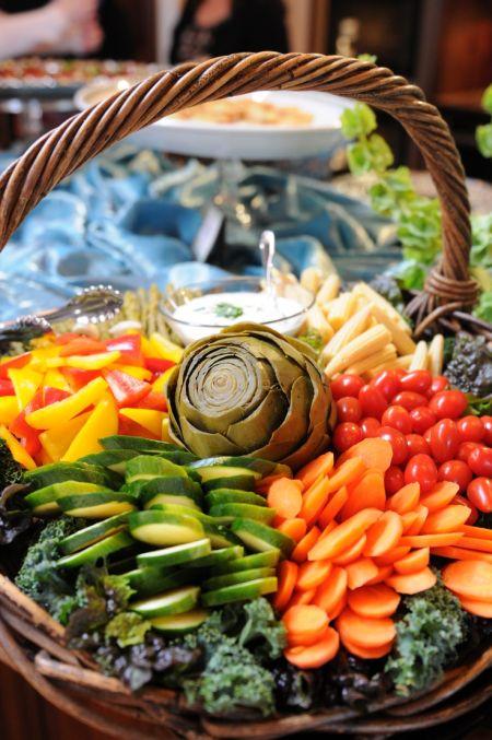 Vegetable Appetizer Veggie Basket
