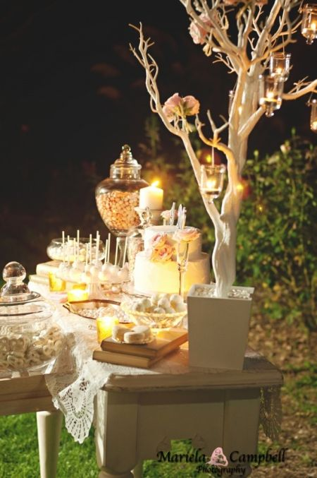 Creative Wedding Candy Buffet